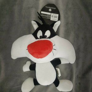 Warner Brothers Sylvester Large Big Head Plush Dog